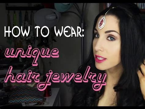 Hairstyles Using Hair Accessories by How To Wear Unique Hair Jewelry 3 Hairstyles Using