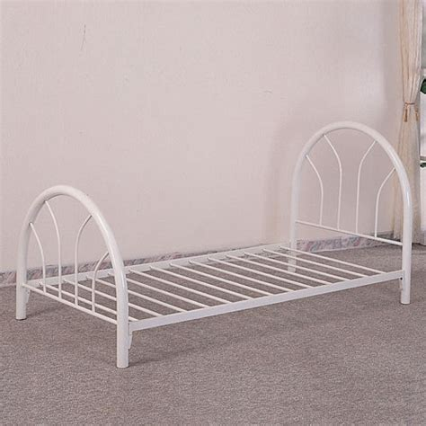 white metal twin bed frame furniture outlet white metal frame twin bed kids