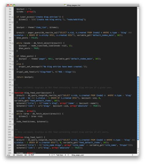 Textmate Themes Gallery | 11 delicious textmate themes for designers and developers