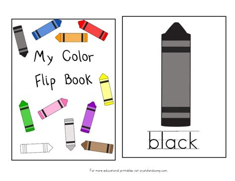 what color is blue books teach colors to free printable