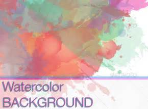 Watercolor Templates by Watercolor Stain Vector Free 187 Dondrup