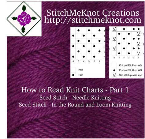 How To Read Knitting Charts Part 1