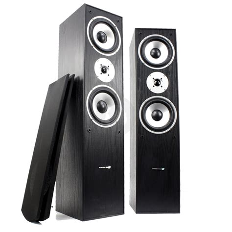 hyundai home audio hi fi cinema tower speakers column