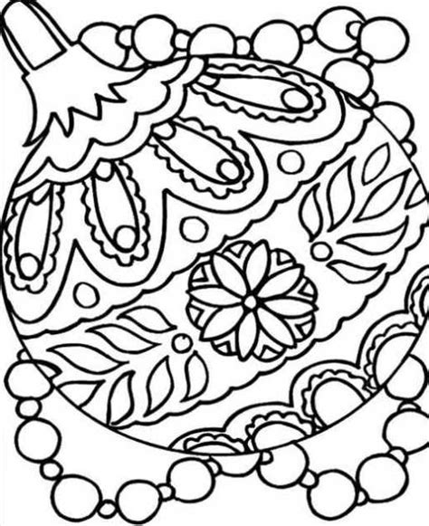 Free Coloring Pages Of Adult Christmas