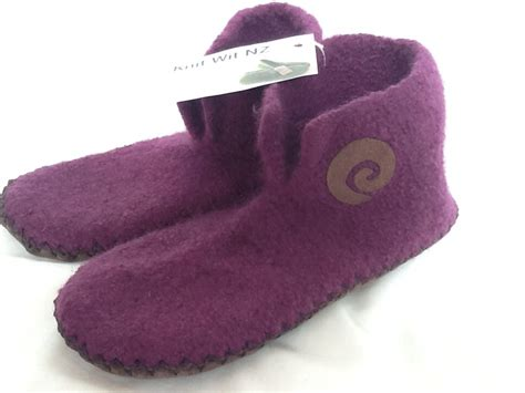 Handmade Slippers For - handmade felted slippers s sizes felt