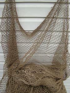 authentic  fishing net  vintage fish netting