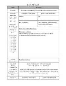 lesson plan template with common standards editable common weekly lesson plan template editable