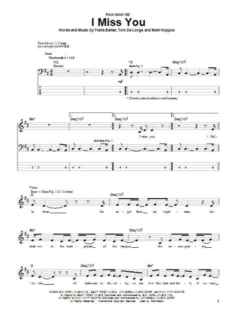 i you song i miss you sheet direct