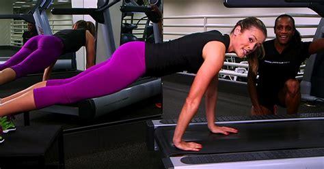 strength on treadmill shredmill workout popsugar fitness