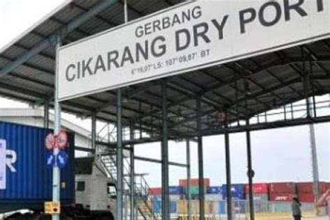 layout pelabuhan niaga pelabuhan kering cdp siap bangun lima dry port koran