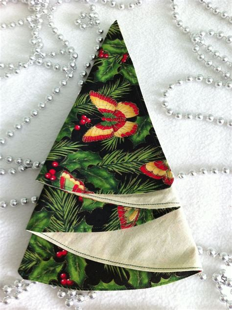 25 best ideas about christmas tree napkin fold on