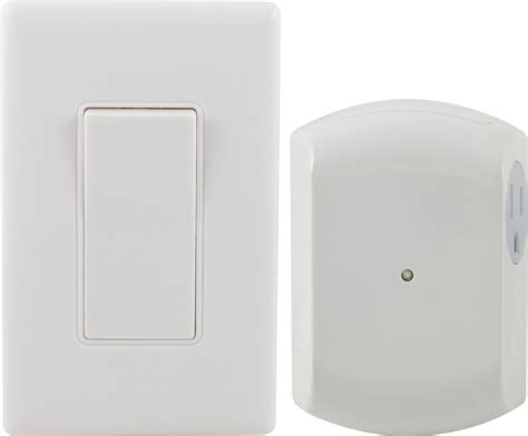 ge 18279 wall switch light remote with 1 outlet