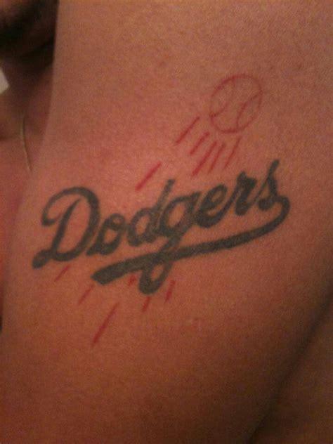 100 87 best tattoos la la dodgers logo designs www pixshark images
