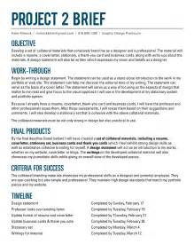 project brief template word project 2 e minnick