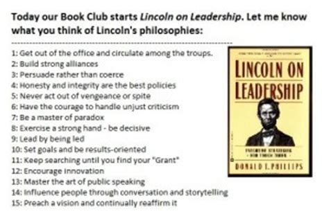 lincoln on leadership for today abraham lincoln s approach to twenty century issues books from lincoln on leadership quotes quotesgram