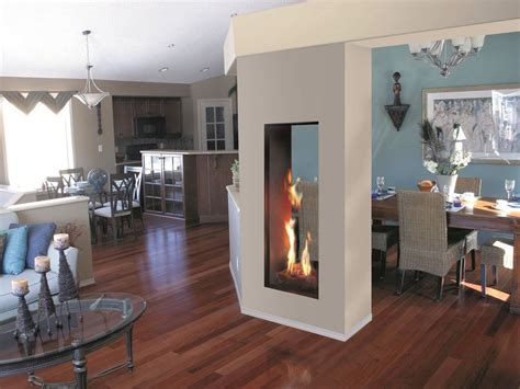 Two Way Fireplace: The Benefits   HomesFeed