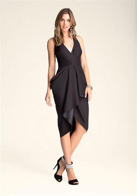 Sale Dress Bebe Halter 1 cutout draped halter dress bebe