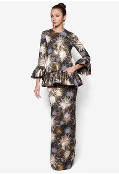 pattern lengan baju ainul mustafa fesyen raya pattern baju kurung moden 2016