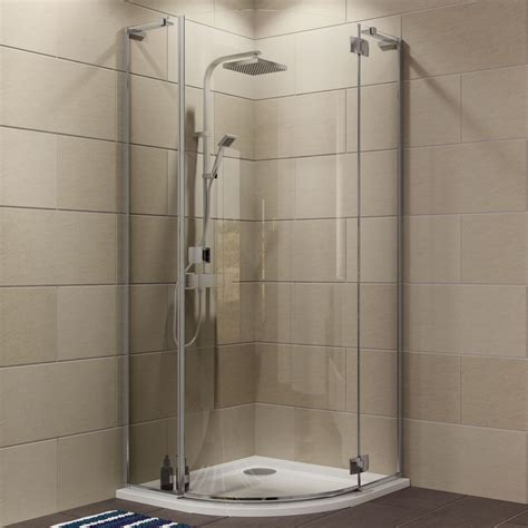 Cooke & Lewis Luxuriant Quadrant Shower enclosure with