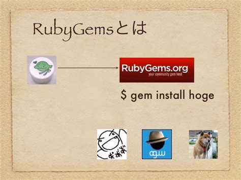 rubygems ruby how to write a gem stack overflow ruby gemsパッケージの作り方