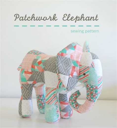 Patchwork Animal Patterns - 25 best ideas about elephant pattern on