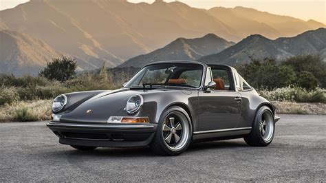 classic porsche carrera porsche 911 targa by singer vehicle design hiconsumption