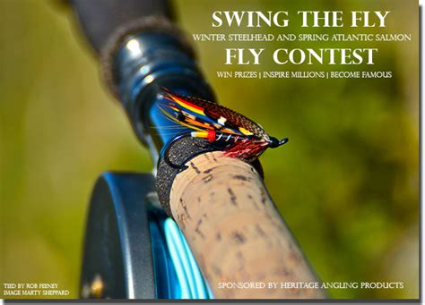 swing fly tie one on swing the fly winter steelhead spring