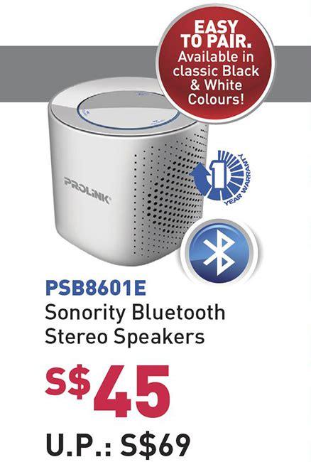 Speaker Bluetooth Prolink philips plantronics prolink comex 2016 highlights