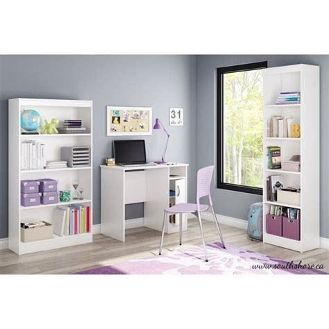 South Shore Small Desk South Shore Axess Small Desk In White 7250075
