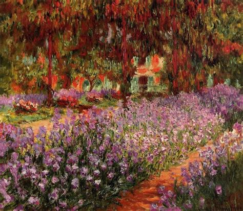 Monet In The Garden by Claude Monet The Garden Painting Best Paintings For Sale