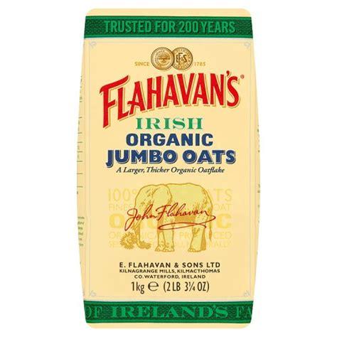 Oatsy Oat 1kg flahavans organic jumbo oats cereals