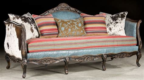 Western Style Sofas by West Collection Western Style Sofa