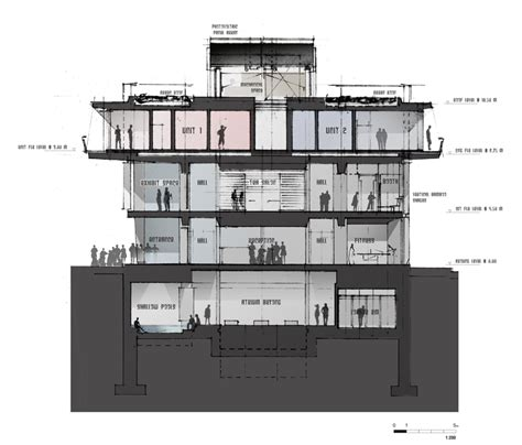 cross section architecture architectural cross section images reverse search