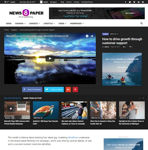 theme newspaper by tagdiv 2014 newspaper theme meet the beautiful post templates