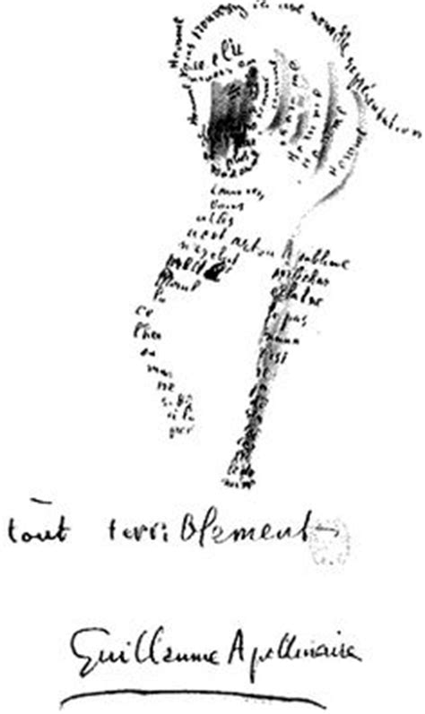 apollinaire guillaume graphic design history the red list 1000 images about caligrama on pinterest literatura