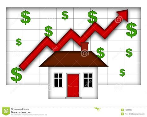 real estate up stock image cartoondealer 67636783