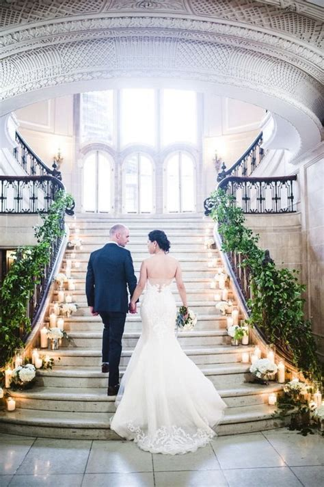 fantastic wedding staircase decor ideas youll love