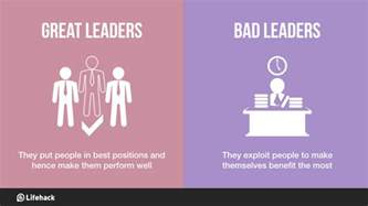 How Big Is A Bed Bug 8 Big Differences Between Great Leaders And Bad Leaders