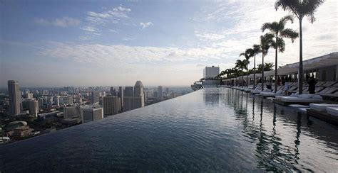 Marina Bay Sands Infinity Pool Marina Bay Sands Hotel Infinity Pool 55 Storeys Above