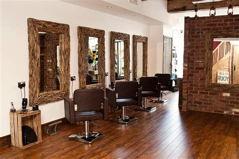 Design Hair Salon Decor Ideas Rustic Salon Decor