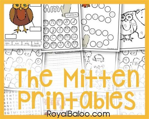 printable mitten maze this the mitten printable is designed for kids 2 10