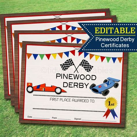 pinewood derby certificate template pinewood derby design templates free 25 pinewood derby