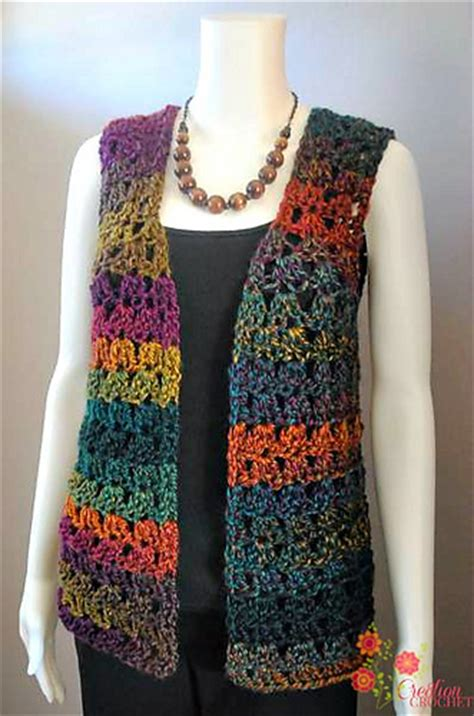 free pattern vest crochet crochet patterns galore unique shell vest