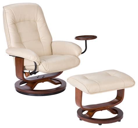 Bonded Leather Chair And Ottoman Bonded Leather Recliner And Ottoman Contemporary Recliner Chairs By Sei