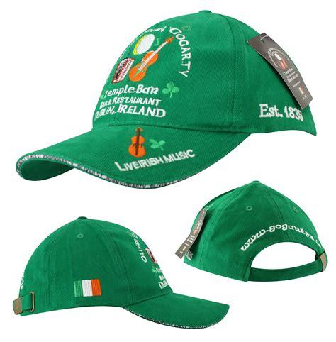 gogartys green baseball cap