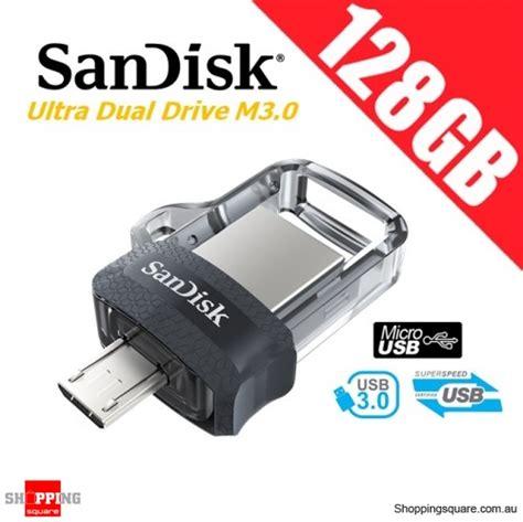 Sandisk Ultra Dual Drive Otg 128gb Usb 30 Garansi Resmi sandisk ultra dual drive m3 0 128gb sddd3 usb 3 0 otg