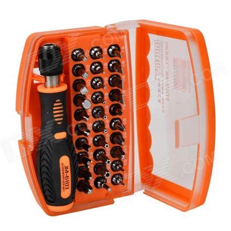 Tools Jak3my Jm 6103 jakemy jm 6103 convenient 30 screwdrivers w 1 handle tool set orange black free shipping