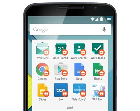 Android For Work by S New Android For Work Locks Business Data On