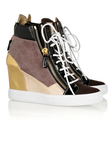 trendy designer sneakers for wedge and athletic