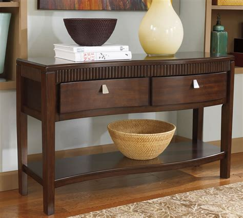 wood console table with storage furniture black wooden console table with drawer and open